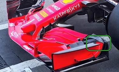 GP BAKU - FERRARI SF71H: novità all'ala anteriore e conferme sul fondo introdotto in Bahrain - GP BAKU - FERRARI SF71H: novità all'ala anteriore e conferme sul fondo introdotto in Bahrain