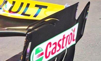 GP BAKU - WILLIAMS E RENAULT: ala posteriore è a cucchiaio - GP BAKU - WILLIAMS E RENAULT: ala posteriore è a cucchiaio