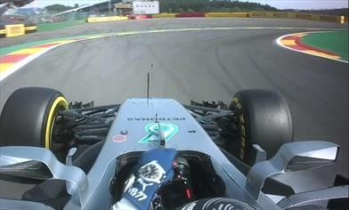 Gp Belgio: Raikkonen guida il gruppo in FP1 ma ...