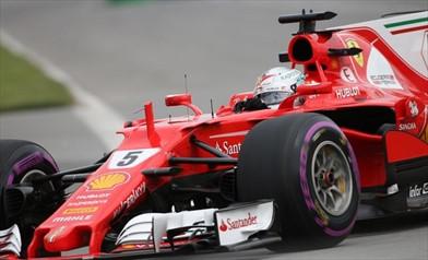 Gp Canada: E' Vettel il leader nelle ultime libere