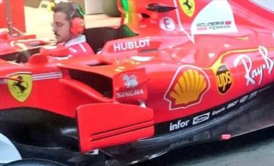 GP CINA: Ferrari con il pacchetto aerodinamico dell'Australia tranne per il cofano