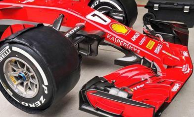 GP CINA - FERRARI SF71H: in attesa dell nuovo fondo sono state confermate le novità del Bahrain