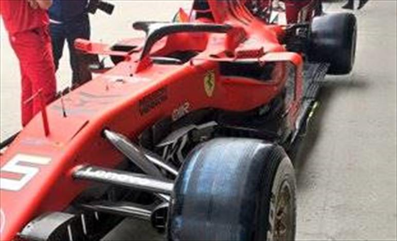 GP CINA - FERRARI SF90: confermato il pacchetto aerodinamico visto in Bahrain