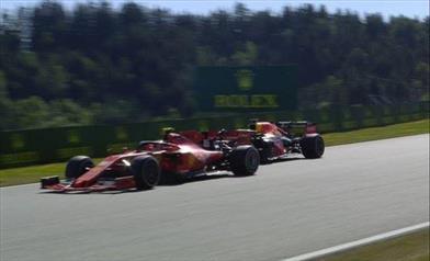 Gp d'Austria: Leclerc e la Ferrari in attesa della decisione dei commissari di gara
