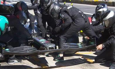 Gp d'Austria: strana gara per la Mercedes che si accontenta del podio con Bottas - Gp d'Austria: strana gara per la Mercedes che si accontenta del podio con Bottas