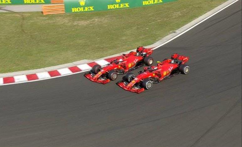 Gp d'Ungheria: la Ferrari chiude ad oltre un minuto dal vertice... Terzo Vettel davanti a Leclerc