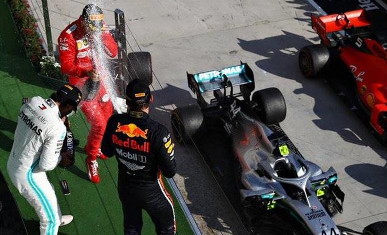 Gp d'Ungheria: Verstappen non può nulla contro Hamilton e termina secondo, delude ancora Gasly