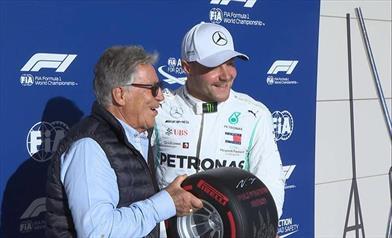Gp degli USA: Bottas conquista la Pole davanti a Vettel e Verstappen