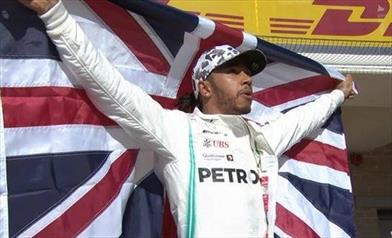 Gp degli USA: Hamilton è Campione del Mondo per la sesta volta, mentre Bottas vince la gara