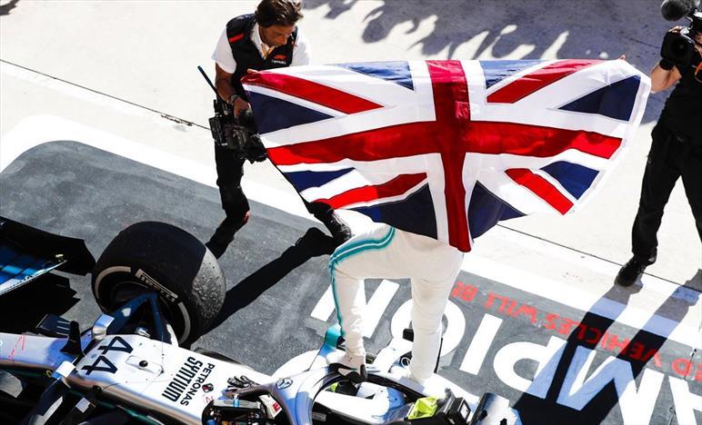 Gp degli USA: Mercedes commenta la vittoria in Texas e il titolo assegnato ad Hamilton