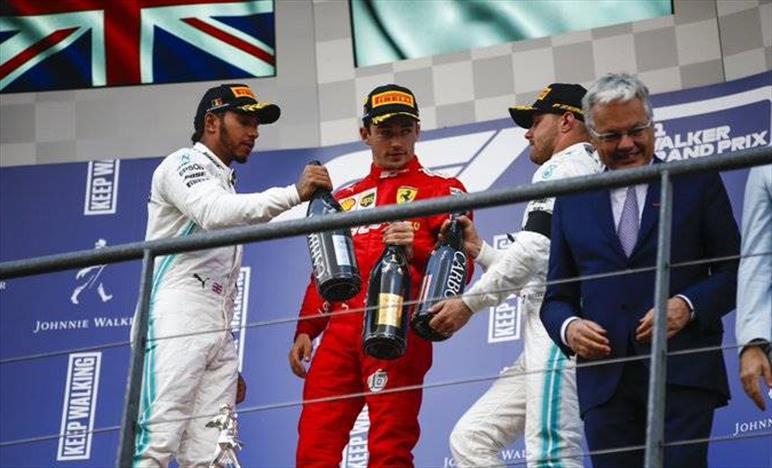 Gp del Belgio: Mercedes limita i danni salendo sul podio con entrambi i piloti