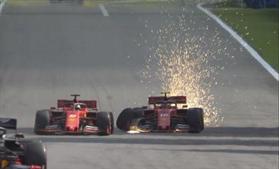 Gp del Brasile: i piloti Ferrari si autoeliminano al 66esimo giro