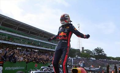 Gp del Brasile: Verstappen vince davanti ad un impeccabile Gasly
