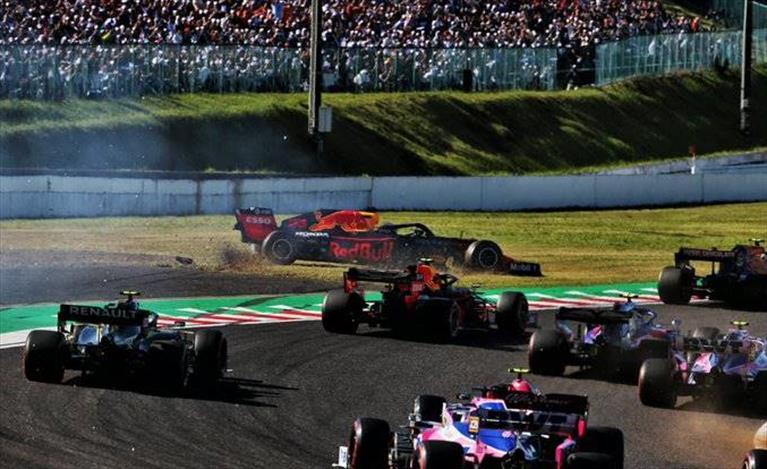 Gp del Giappone: Solo un quarto posto per la Red Bull nella gara di casa Honda