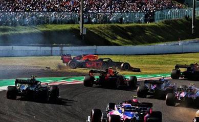 Gp del Giappone: Solo un quarto posto per la Red Bull nella gara di casa Honda - Gp del Giappone: Solo un quarto posto per la Red Bull nella gara di casa Honda