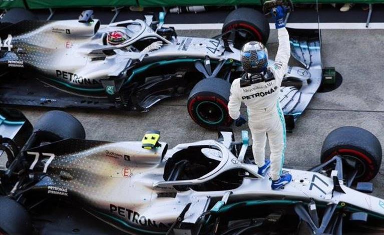 Gp del Giappone: vince Bottas e Mercedes è Campione del Mondo per la sesta volta
