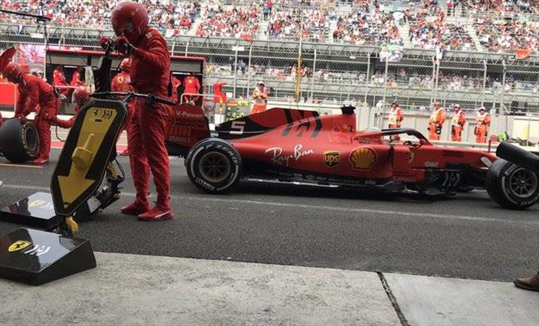 Gp del Messico: Ferrari spreca un'altra prima fila tutta Rossa al via
