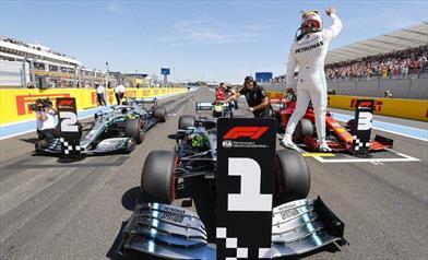 Gp di Francia: prima fila Mercedes con un super Hamilton in Pole