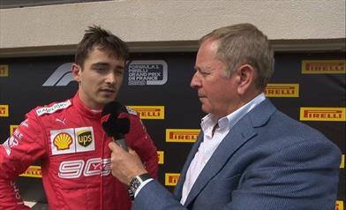 Gp di Francia: terzo e quinto posto per la Ferrari, Leclerc rivitalizza il Gp nel finale - Gp di Francia: terzo e quinto posto per la Ferrari, Leclerc rivitalizza il Gp nel finale