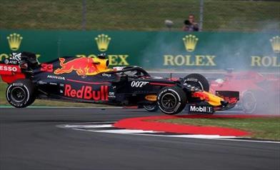 Gp di Gran Bretagna: Verstappen quinto colpito da Vettel, Gasly quarto