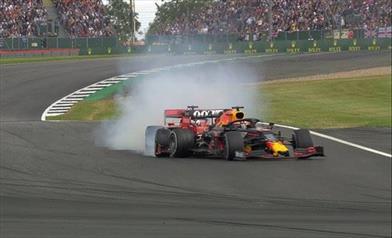 Gp di Gran Bretagna: Vettel rovina la sua gara e quella di Max, Leclerc terzo