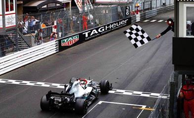 Gp di Monaco: finisce la striscia di doppiette consecutive Mercedes, Hamilton allunga su Bottas