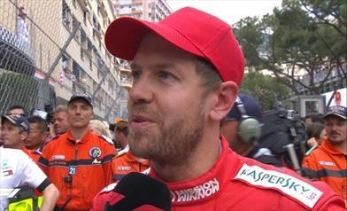 Gp di Monaco: secondo posto per Vettel e per la Ferrari - Gp di Monaco: secondo posto per Vettel e per la Ferrari