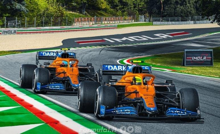 Gp Emilia Romagna - McLaren punta il podio
