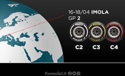 Gp Emilia Romagna - Pirelli sceglie ancora mescole medie