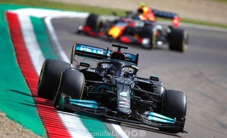 GP Emilia Romagna - Qualifiche - Hamilton vince la sfida con Verstappen