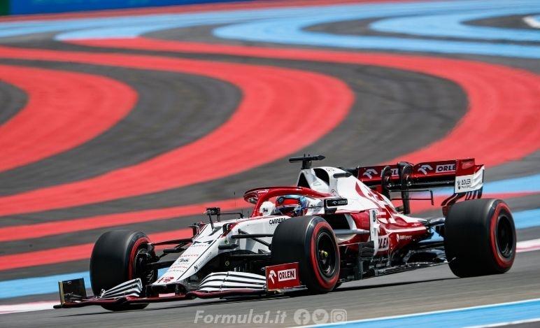 Gp Francia - Alfa Romeo - Raccolti dati importanti, puntiamo al Q3