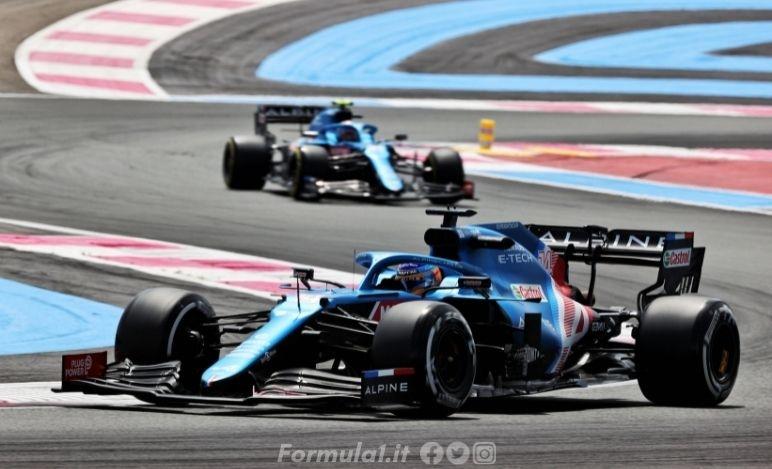 Gp Francia - Alpine - Dentro la top ten nel circuito di casa