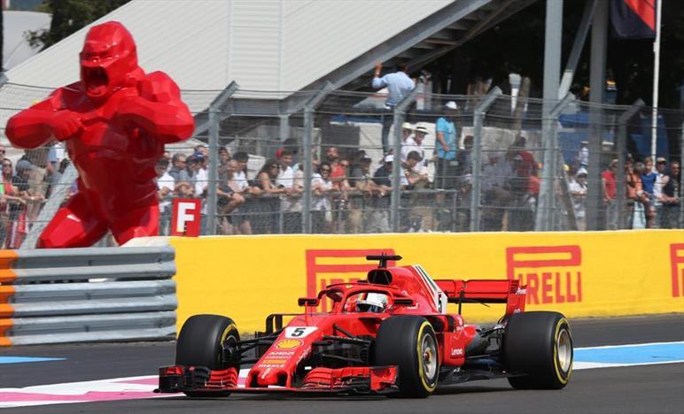 GP FRANCIA - ANALISI GARA: Vettel contiene i danni ma Hamilton vince e risparmia la PU