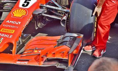 GP FRANCIA - FERRARI SF71H: ecco la SF71H di Vettel alle verifiche tecniche