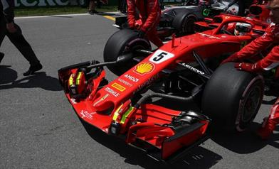 GP FRANCIA: novità sul posteriore della Ferrari SF71H per cercare il colpaccio