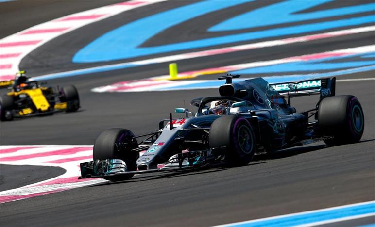 Gp Francia: Pole di Hamilton, 3/o Vettel
