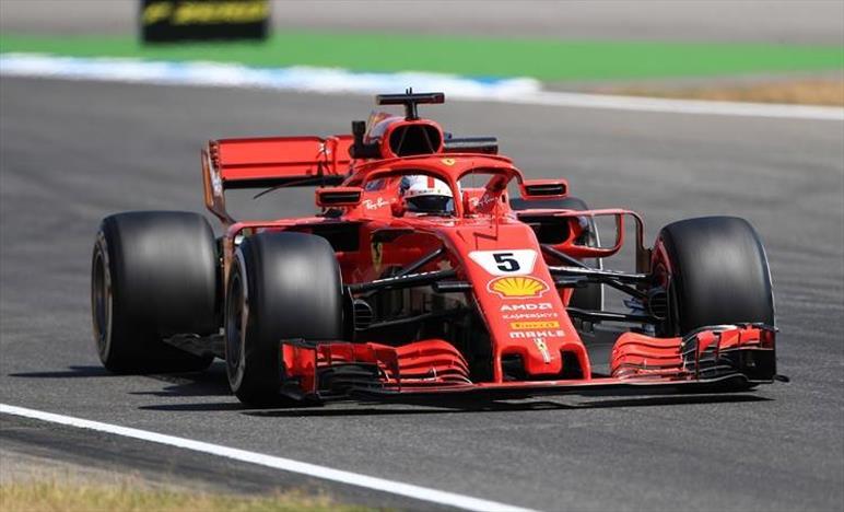 Gp Germania: la pole è di Vettel