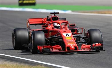 Gp Germania: la pole è di Vettel - Gp Germania: la pole è di Vettel