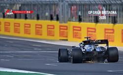 Gp Gran Bretagna: Hamilton re di Silverstone su tre ruote