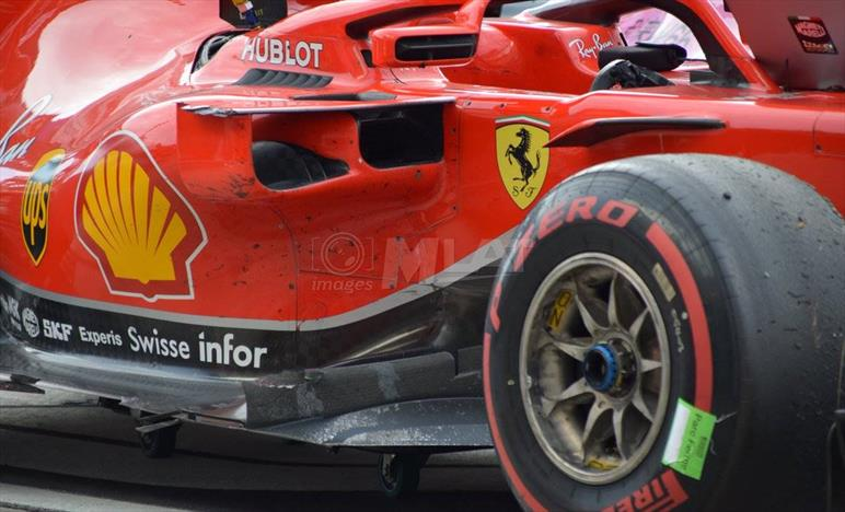GP ITALIA - ANALISI GARA - Parte 1: i danni sulla SF71H di Vettel sono costati 5 decimi al giro