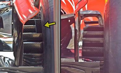 GP ITALIA - FERRARI SF71H: c'è una novità sui brake ducts posteriori - GP ITALIA - FERRARI SF71H: c'è una novità sui brake ducts posteriori