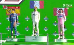 Gp Italia: Gasly vince la gara più pazza della stagione