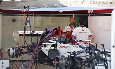 GP ITALIA - SAUBER C37: la vettura di Leclerc è senza Halo perché...