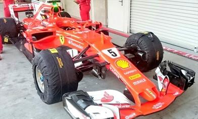 Gp Messico: Ferrari con pacchetto aerodinamico da alto carico