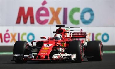 Gp Messico: Pole per Vettel ma Verstappen...