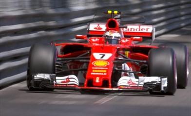 Gp Monaco - Prima fila tutta Ferrari