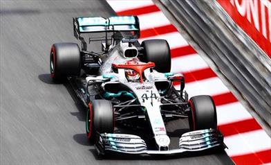 GP MONACO - QUALIFICHE: Hamilton in pole, Ferrari in crisi
