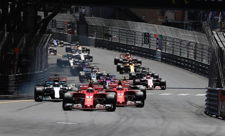 Gp Monaco: trionfo di Vettel e della Ferrari