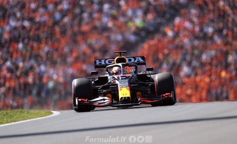 Gp Olanda - Qualifiche - Pole position per Verstappen