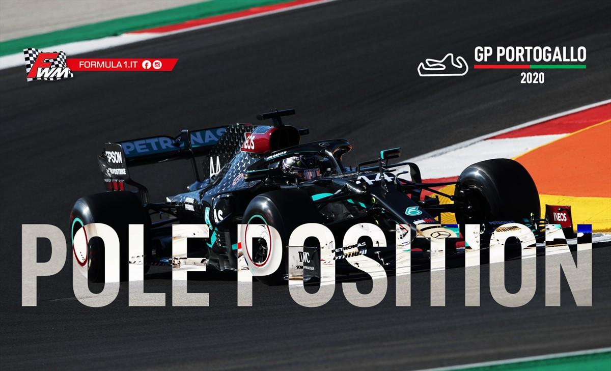 GP Portogallo, qualifiche: Bottas beffato da un Hamilton leggendario
